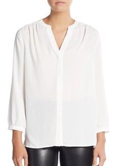 Not Your Daughter's Jeans V-Neck Pleated Blouse