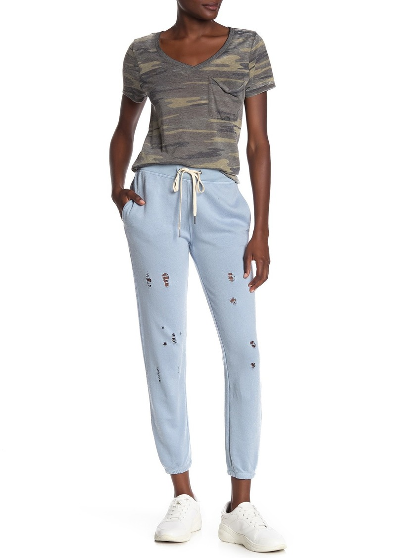 Derby Distressed Joggers