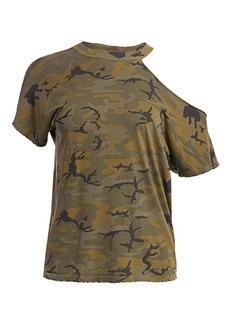 n:Philanthropy Flamingo Cutout Camouflage Tee