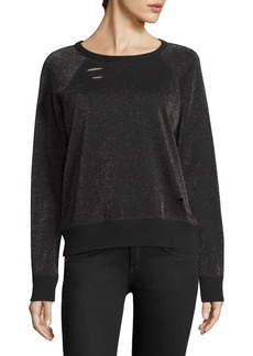 n:Philanthropy Metallic Sweatshirt
