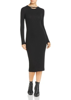 n:Philanthropy n PHILANTHROPY Athens Rib-Knit Midi Dress