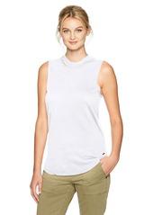 n:Philanthropy n: PHILANTHROPY Women's Dusty Mock Neck Tank White