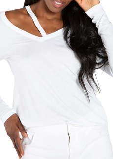 n:PHILANTHROPY Deconstructed Long Sleeve T-Shirt