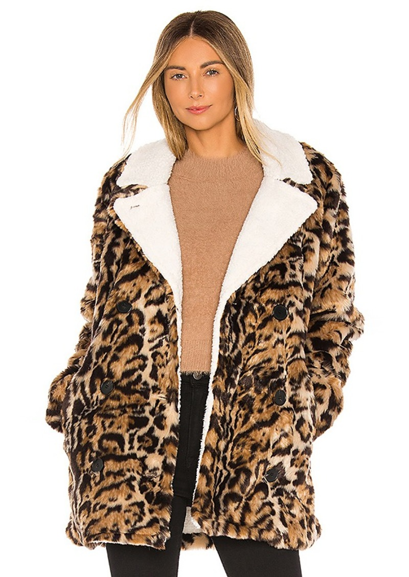 n:philanthropy Faux Fur Turn Jacket