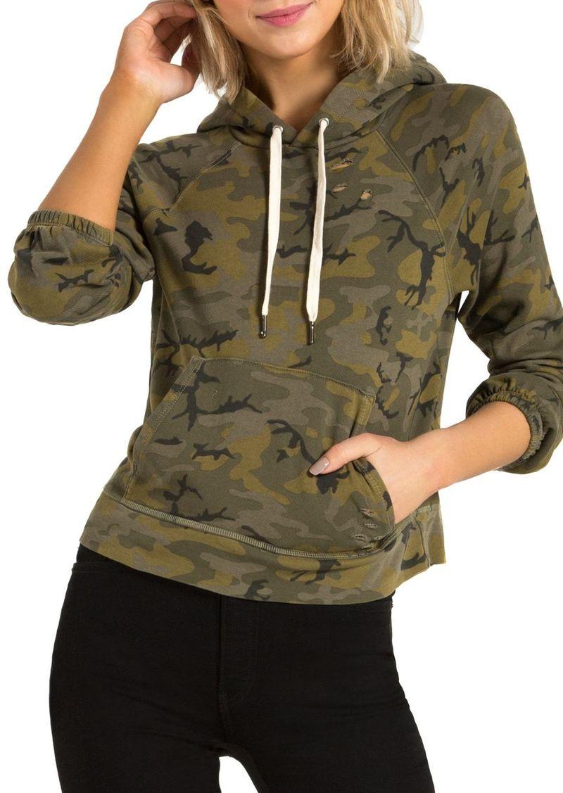 n:philanthropy Gamble Camouflage-Print Hooded Sweatshirt