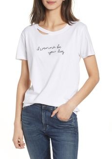 n:PHILANTHROPY Harlow Embroidered Tee
