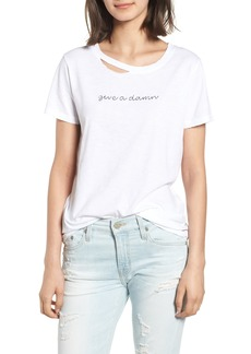 n:PHILANTHROPY Harlow Give a Damn Distressed Tee