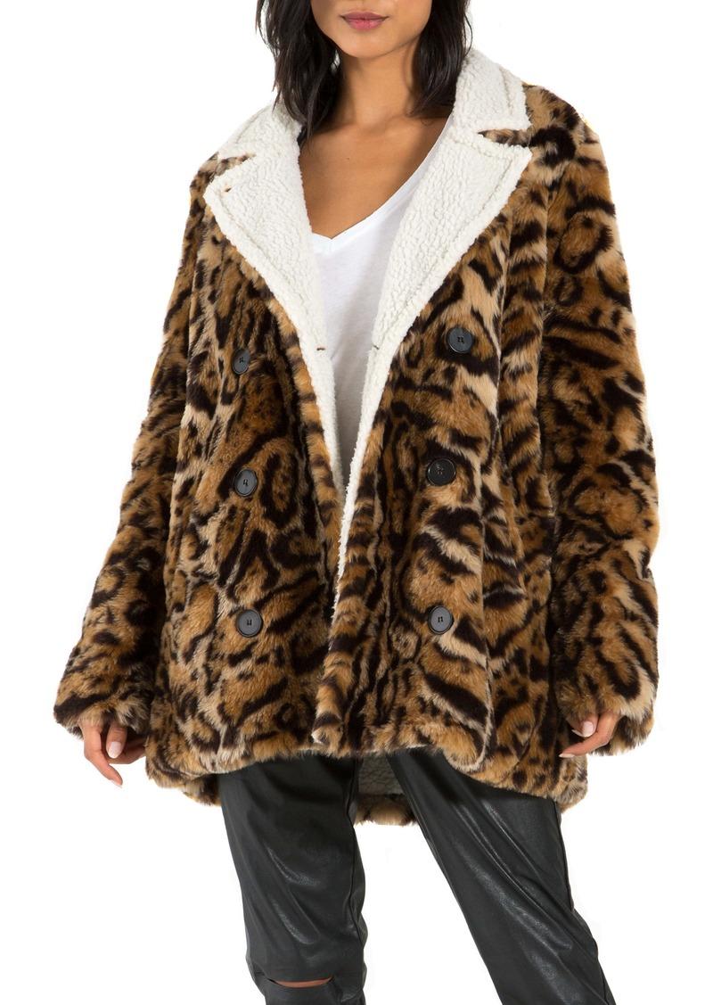 n:PHILANTHROPY Turn Faux Fur Jacket
