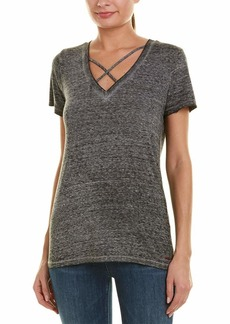 n:PHILANTHROPY Women's Casual V-Neck Tee Shirt