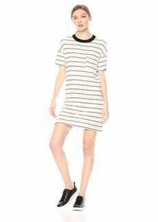 n:PHILANTHROPY Women's Cortez Dress Stripe Black cat M