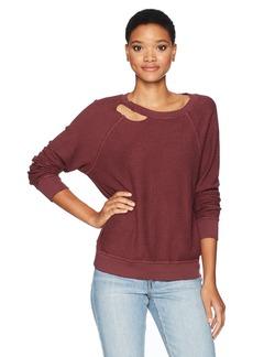 n:PHILANTHROPY Women's Holden Reversible Destructed Sweatshirt  M