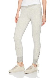 n:Philanthropy n: PHILANTHROPY Women's Marta Lace Up Jogger Pant Heather Grey L