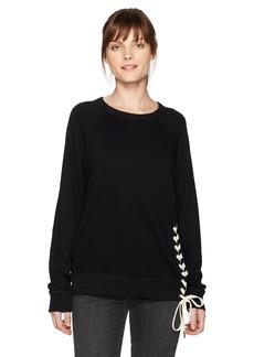 n:PHILANTHROPY Women's Mika Lace up Sweatshirt  S