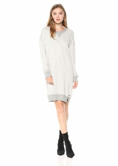 n:PHILANTHROPY Women's Milo Sweatshirt Dress Heather Gray L