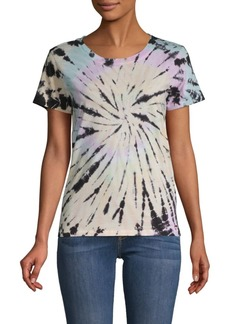 n:Philanthropy Tie-Dyed Spiral Cotton Tee