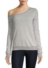 n:Philanthropy Walker Off-The-Shoulder Sweatshirt
