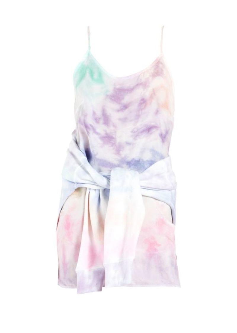 Willa Tie-Waist Sweatshirt Dress