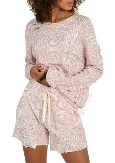 Women's N:philanthropy Vinn Distressed Sweatshirt