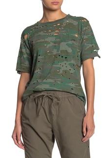 NSF Anderson Camo Distressed Pocket T-shirt