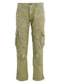 NSF Basquiat Paint Splatter Cargo Pants