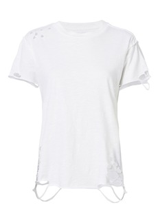 NSF Destroyed White T-Shirt
