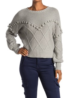 NSF Kaaya Mixed Stitch Sweater