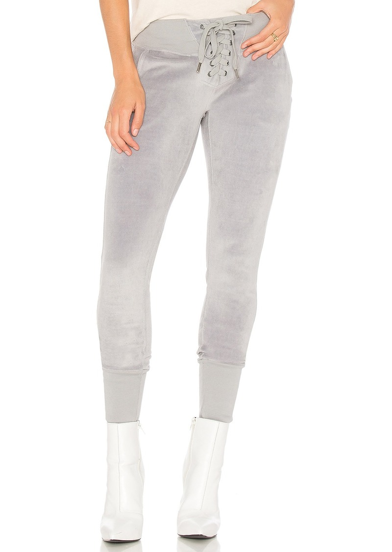 x REVOLVE Maddox Destroyed Sweatpant in Pink. - size XS (also in M,S) NSF