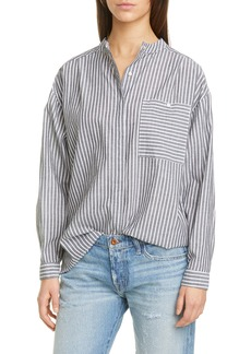 NSF Clothing Akira Stripe Button-Up Shirt
