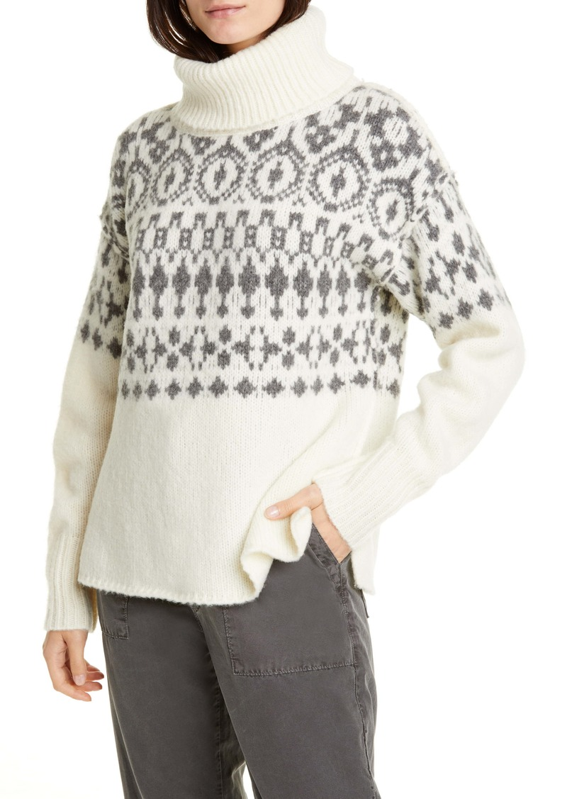 NSF Clothing Cher Nordic Turtleneck Sweater