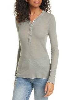 NSF Clothing Janice Rib Henley