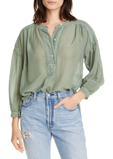 NSF Clothing Jasper Cotton & Silk Shirt