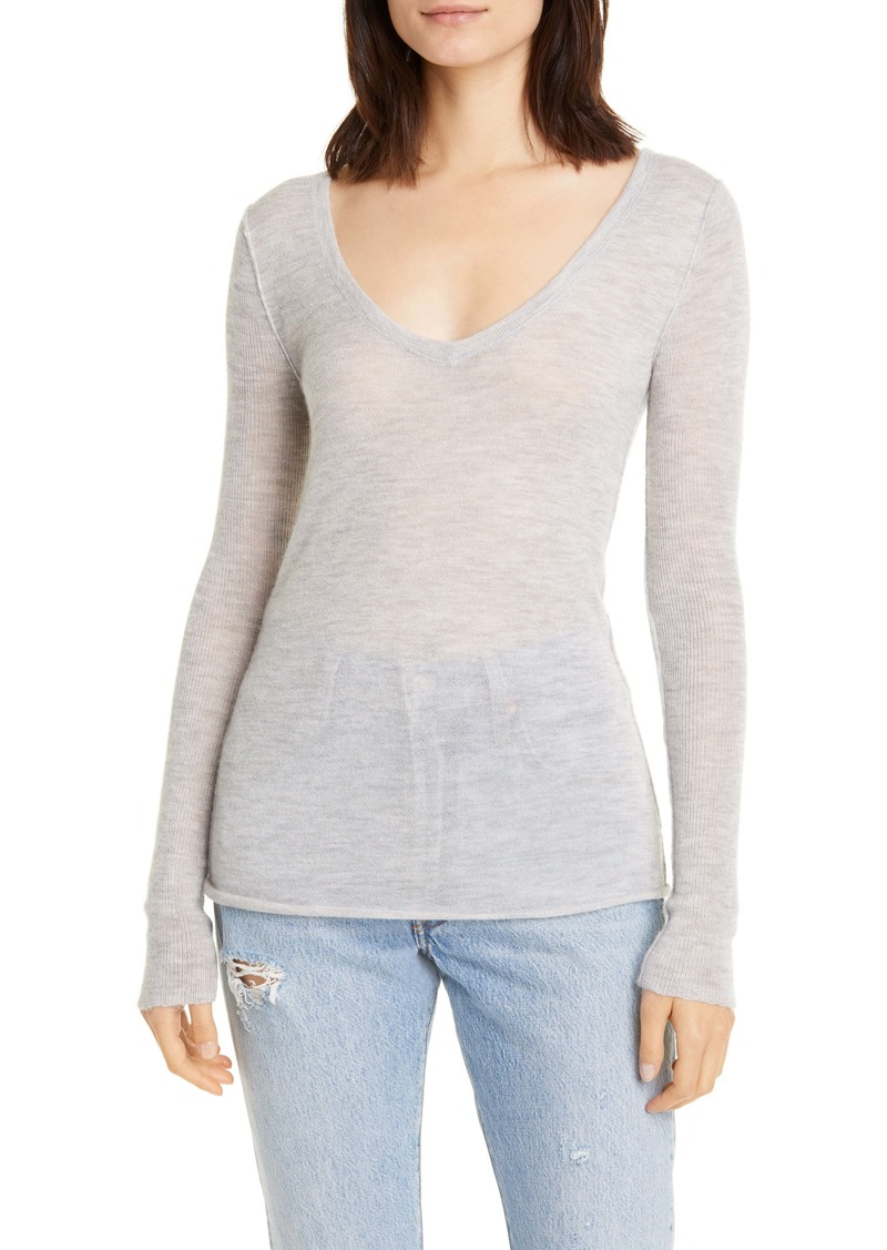 NSF Clothing Jessica V-Neck Cashmere Sweater