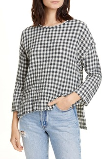 NSF Clothing Maria Gingham Tunic