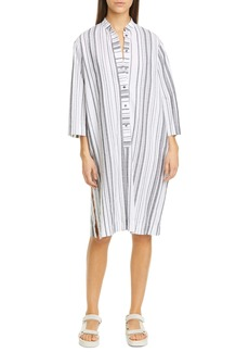 NSF Clothing May Stripe Cotton Caftan