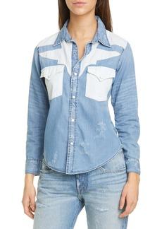 NSF Clothing Teagan Western Shirt