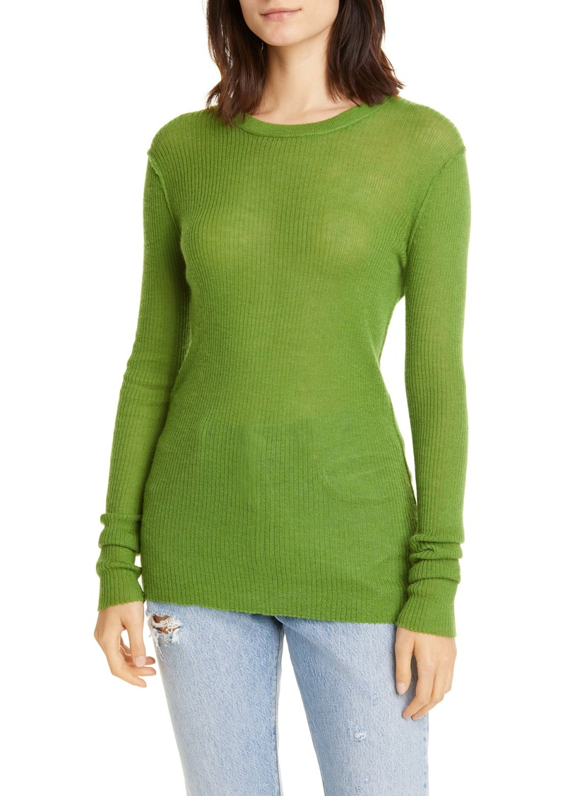 NSF Clothing Zuli Ribbed Cashmere Sweater