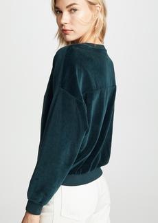 NSF Farrah Velvet Sweatshirt