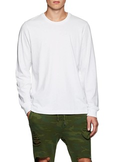 NSF Men's Cotton Jersey Long-Sleeve Shirt