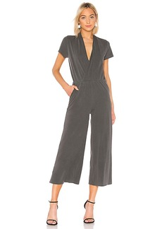 NSF Nathalia Cross Over Tee Jumpsuit