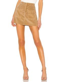 e4d512ab3 NSF Penelope Patch Pocket Mini Skirt