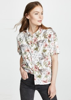 NSF Tanis Short Sleeve Button Down Shirt