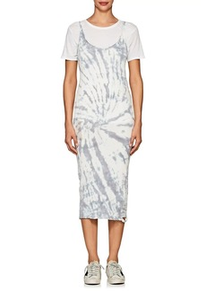 NSF Women's Adana Tie-Dyed Cotton Midi-Dress