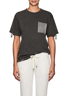 NSF Women's Anissa Distressed Cotton T-Shirt