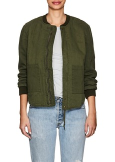 NSF Women's Clementine Quilted Cotton Bomber Jacket