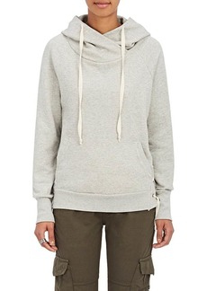NSF Women's Enzo Cotton Lace-Up-Side Hoodie