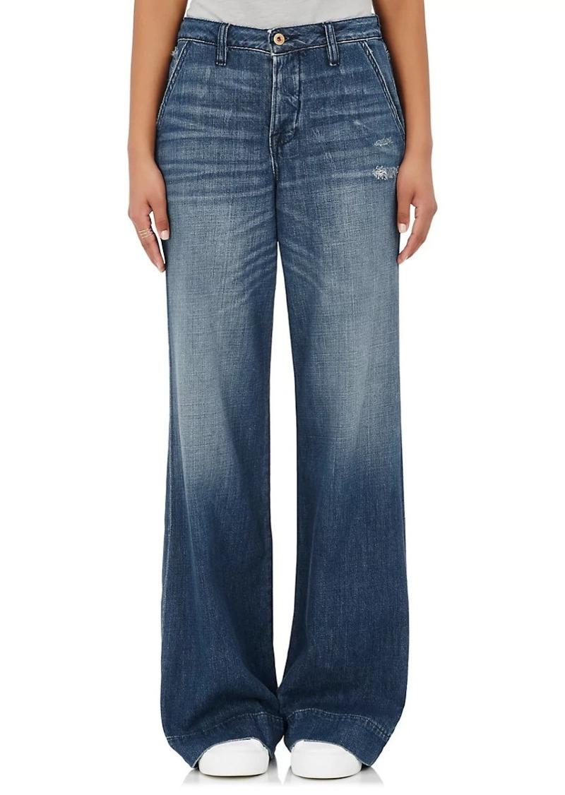 Nsf Nsf Women S Hepburn Wide Leg Jeans Denim