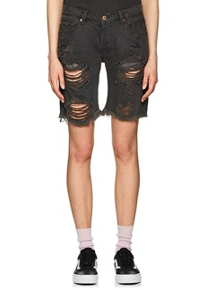 NSF Women's Jane Distressed Denim Shorts