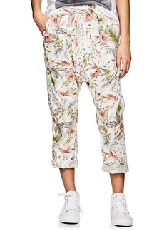NSF Women's Jojo Floral Cotton Drop-Rise Pants