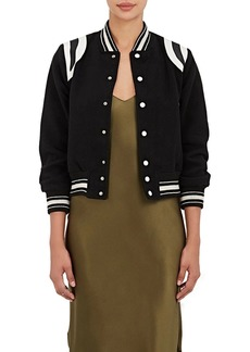 NSF Women's Kenny Wool-Blend Bomber Jacket
