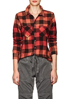 NSF Women's Kimberly Buffalo-Checked Cotton Shirt